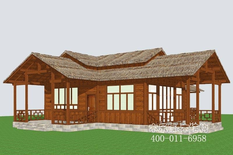 南京木结构房屋项目开工