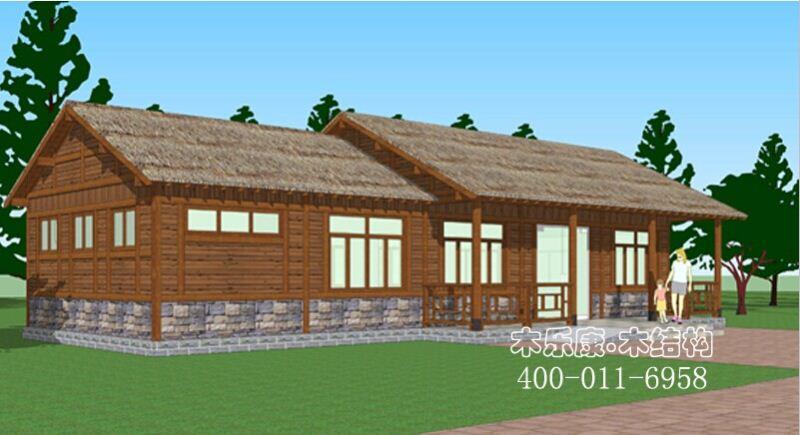 南京木结构房屋开工啦!