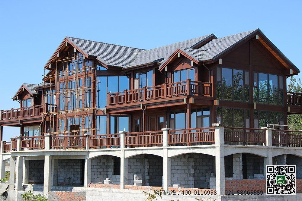 带你了解木结构建筑木屋的抗震性图片