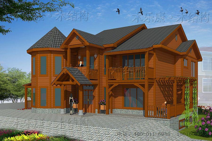 木屋别墅对战钢筋混凝土别墅
