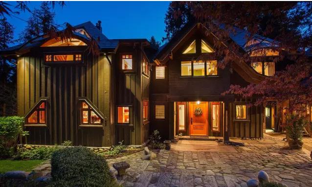 重型木结构别墅可以把装修费都省了
